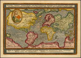 Map Of Europe 1600 Map Of The World From 1600