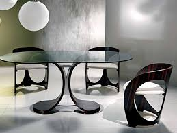 dining room modern dining chair and dining table with z shape and