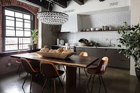 home trends design london loft dining table in walnut raw natural goodness 50 live edge dining tables that wow