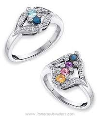 ring with children s birthstones mothers ring find your platinum mothers ring now my