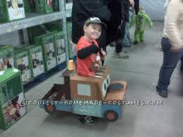 Tow Mater Halloween Costume Homemade Tow Mater Truck Costume