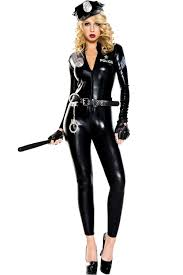 Police Woman Halloween Costume Terminator Halloween Costume
