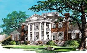 Historic Southern House Plans by Grand Southern Home Plan 32486wp Architectural Designs House
