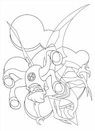 coloring pages aliens coloring pages monsters aliens ben