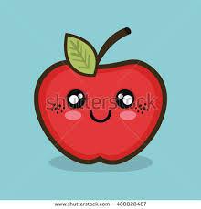 apple cartoon cartoon apple fruit design stock vector 480828487 shutterstock
