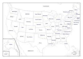 Map With State Names by Filemap Of Usa With State Namessvg Wikimedia Commons Map Of