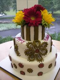 vibrant yellow and pink colors mixed with flowers on a