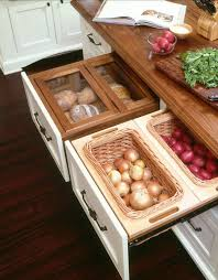 smart kitchen solutions neat drawer storage for onions potatoes
