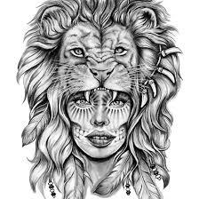 best 25 lion thigh tattoo ideas on pinterest half sleeve tattoo