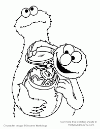 monnter face coloring page coloring home