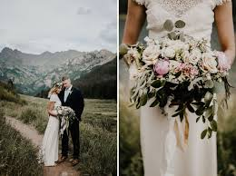 colorado weddings bohemian c wedding in the colorado mountains green wedding