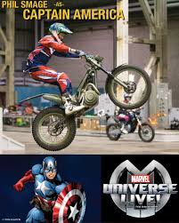 cast of motocrossed blacktrax brings marvel comics closer to its audience cast