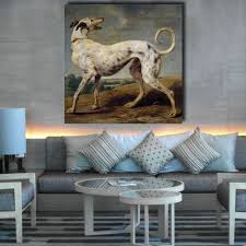 afghan hound attack compare prices on hound painting online shopping buy low price