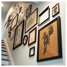 Up The Stairs Wall Decor A Gallery Staircase Wild Ink Press