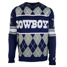 cowboys sweater dallas cowboys nfl argyle sweater clarktoys exclusive