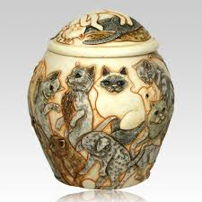 cat urn galore cremation urn