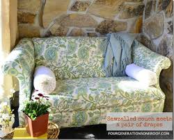 Making Sofa Slipcovers Awesome Diy Sofa Slipcover Ideas Mostly Everything But Sewing Sofa