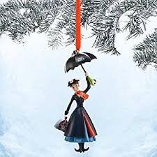 poppins sketchbook ornament 50th anniversary