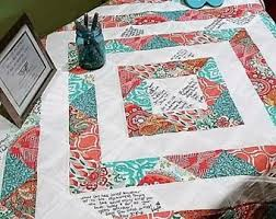 wedding quilt sayings wedding quilt etsy