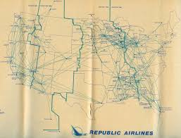 Southwest Airlines Route Map by Why Was Hughes Airwest Taken Over By Republic Airliners Net