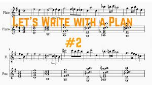 Plan 2 by Writing A Melody Let U0027s Write With A Plan 2 Ben Levin Youtube