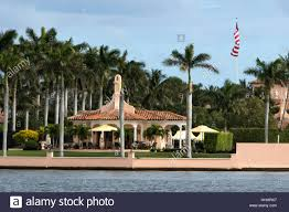 Donald Trump S House by Fishermen Along The Intracoastal Waterway Behind President Donald