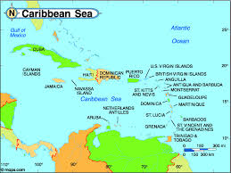 Map Caribbean by Caribbean Christian Radio Island Radio Stations Broadcasting