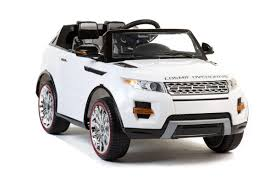 electric 4x4 vehicle white evoque 4x4 12v 2 seater kids u0027 electric ride on car
