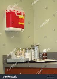 examination room doctors office medical clinic stock photo