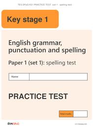 spag ks1 practice tests set 3 by tesspag resources teaching