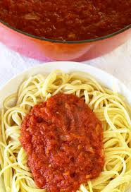 Laura In The Kitchen Pasta Simple Canned Tomato Pasta Sauce