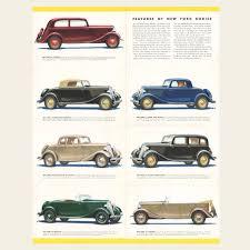 Vintage Ford Truck Brochures - 1934 ford v 8 sales brochure u2013 oldcuts