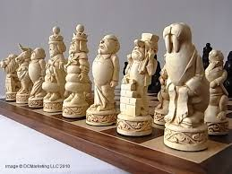 alice in wonderland chess set amazing art and objects