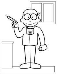 free coloring pages printable doctors coloring pages