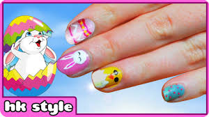 Easter Nail Designs Easter Nail Art Three Cute And Easy Tutorials Nail Art Designs