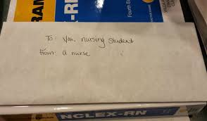 nurse quote gifts inspiring nursing student finds sweet anonymous note of