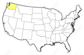 A Map Of United States by Political Map Of United States With The Several States Where