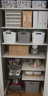 Ikea Kitchen Carts by Office Craft Room Craft Closet Organization Adjustable Shelves