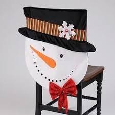 snowman chair covers artesanato de natal 2015 dicas novidades chair covers dining
