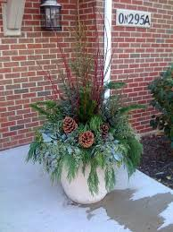 Christmas Ideas For Outside Planters by 37 Best Container Gardening Recipes Images On Pinterest Garden