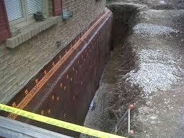 backyard basement waterproofing terrys quality concrete