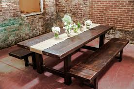 Large Wooden Dining Table by Rustic Wood Dining Table Outdoor Furniture Garden Chairs Rustic