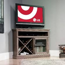 Trendy Corner Space With Various by Corner Tv Stand Tv Stands U0026 Entertainment Centers Target