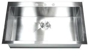 36 top mount drop in stainless steel single bowl kitchen sink drop