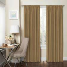 Brown Gold Curtains Polyester Gold Curtains Drapes Window Treatments The