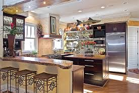 Painted Glazed Kitchen Cabinets Wonderful Kitchen Accent Cabinet Painted And Glazed Kitchen