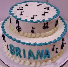 musical notes cake in buttercream cake by nancy u0027s fancy u0027s cakes