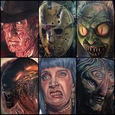 amazing horror tattoos by paul acker horrorhomework com
