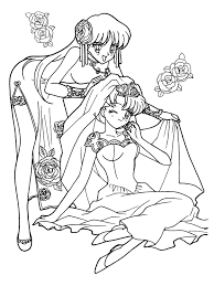 beautiful sailor moon coloring pages sailor moon pinterest