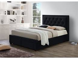 5ft Bed Frame Birlea King Size 5ft Bed Frame With 4 Drawers In Black Fabric